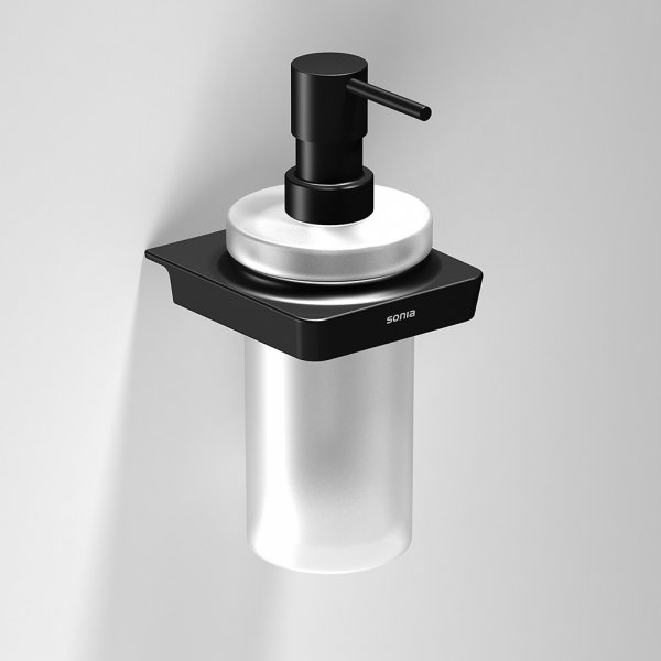 Bathroom Origins S6 Black Soap Dispenser