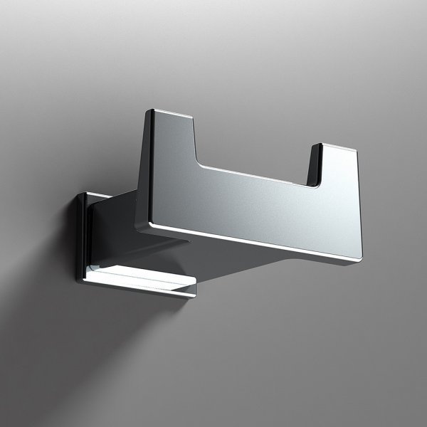 Bathroom Origins S Cube Chrome Robe Hook