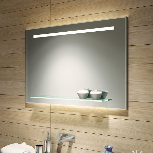 Bathroom Origins Fusion 100cm Light Mirror