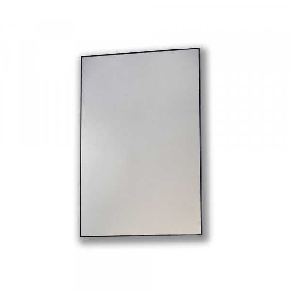 Bathroom Origins Metro Black 60cm Framed Mirror