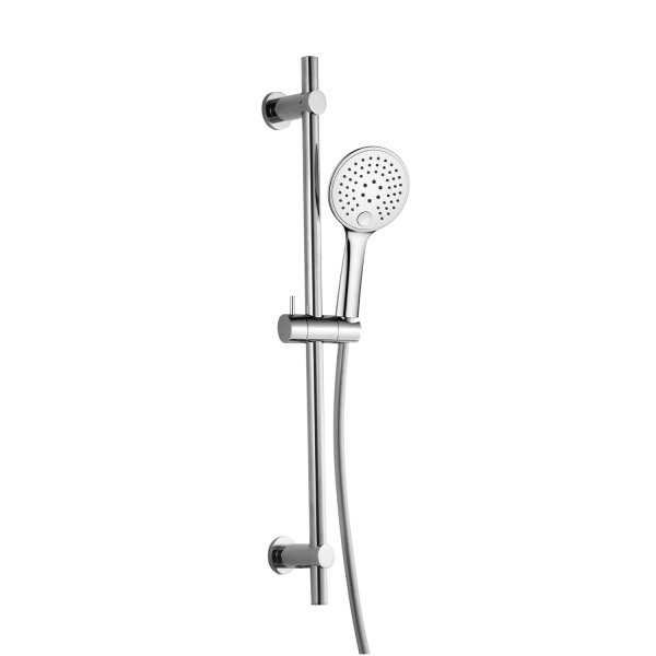RAK Round Slide Rail Kit With 3 Function Shower Handset