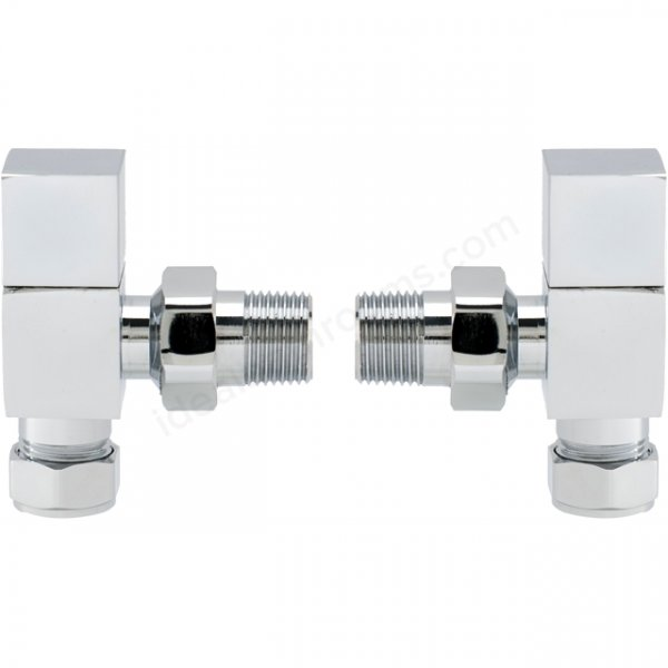 RAK Angled Square Head Radiator Valve