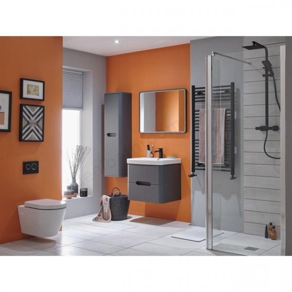 Essential Colorado 500mm Wall Hung Basin Unit with 2 Drawers