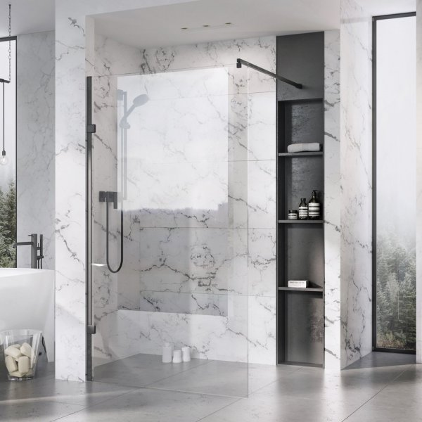 Roman Liberty 10mm 1157mm Clear Glass Wetroom Corner Panel