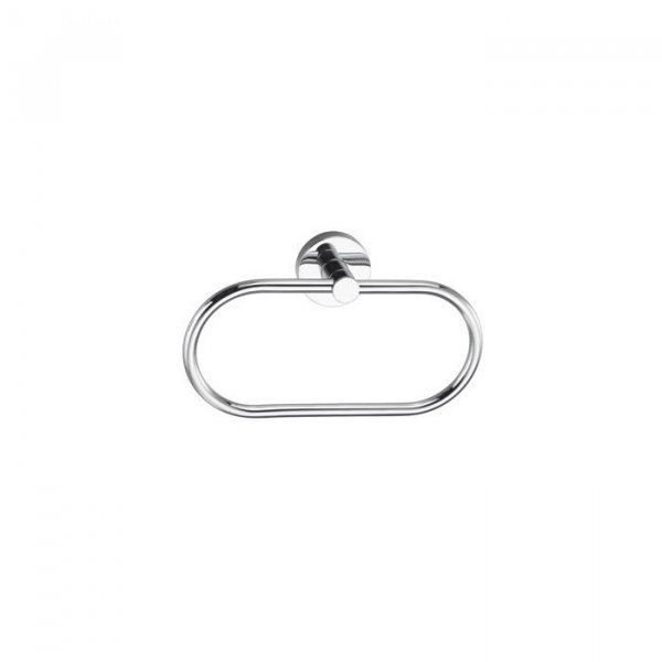 Bagnodesign M-Line Chrome Towel Ring