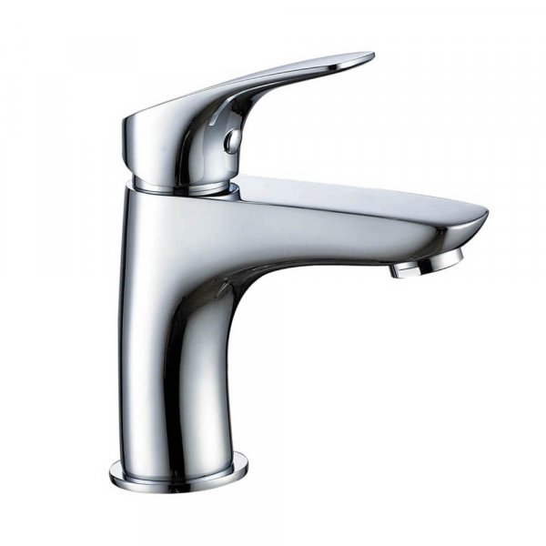 Just Taps Plus Rize Basin Mixer Tap Single Handle - Chrome