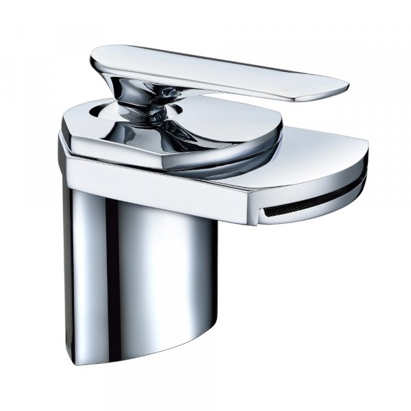 Just Taps Plus Gant Basin Mixer Tap with Click Clack Waste Single Handle - Chrome