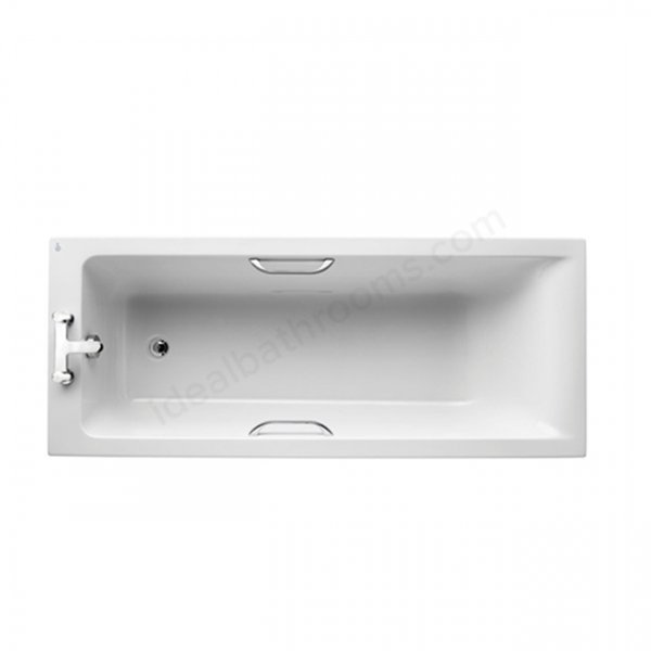 Ideal Standard Concept 1700 x 700mm Rectangular Bath with Chrome Grips
