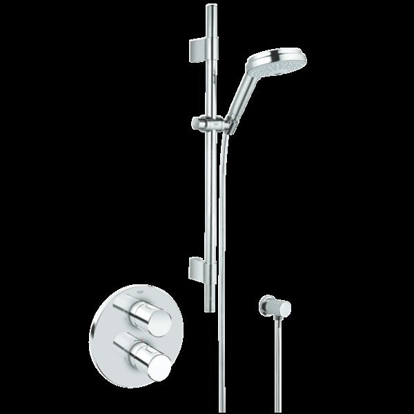 Grohe Grohetherm G3000 Cosmo Concealed Shower Set