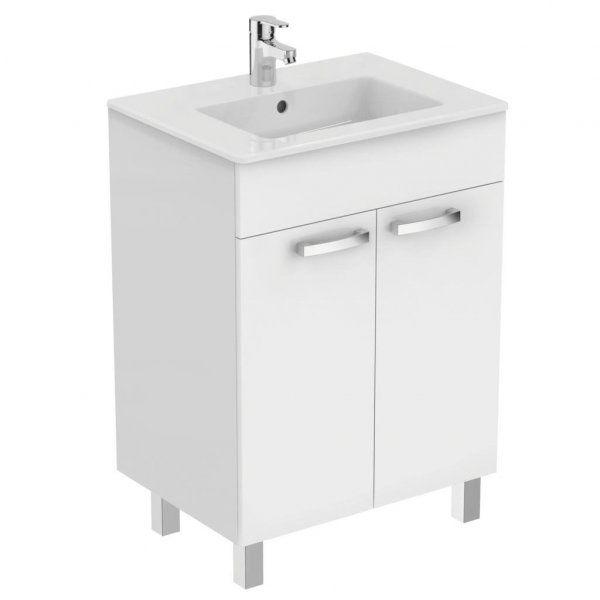 Ideal Standard Tempo 600mm Vanity Unit with 2 Doors & Legs