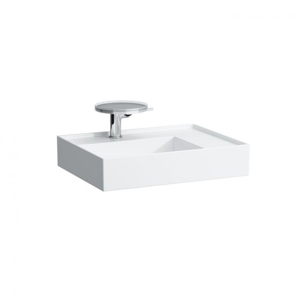 Kartell by Laufen 60cm SaphirKeramik Basin with Shelf