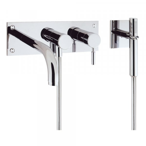 Crosswater Design Bath 3 Hole Set with Kit