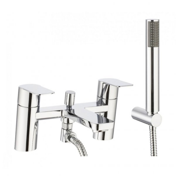 Crosswater Kelly Hoppen Zero 6 Bath Shower Mixer with Kit