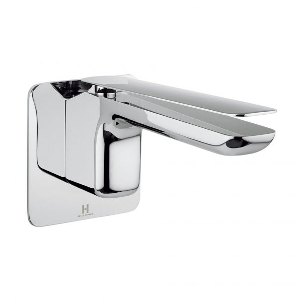 Crosswater Kelly Hoppen Zero 2 Wall Mounted 2 Hole Set Basin Mixer