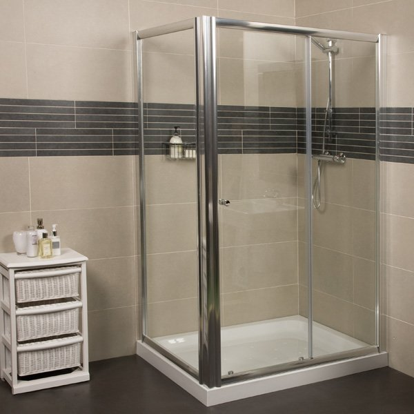 Roman Haven Sliding Door Shower Enclosure