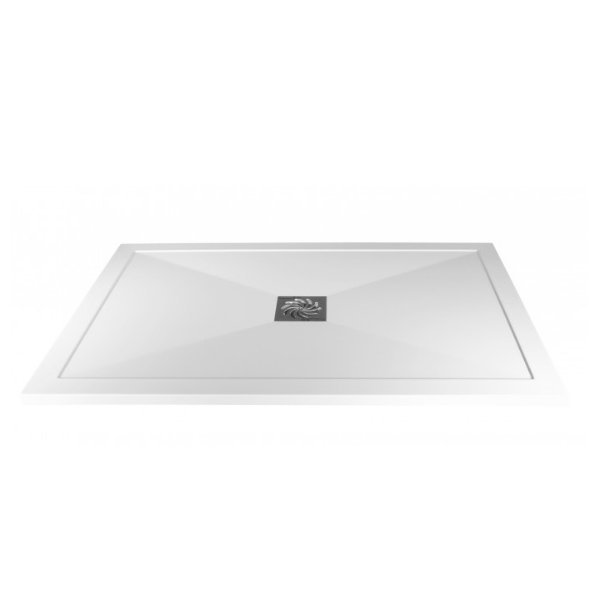 Traymate 900 x 760mm Symmetry Rectangular Shower Tray