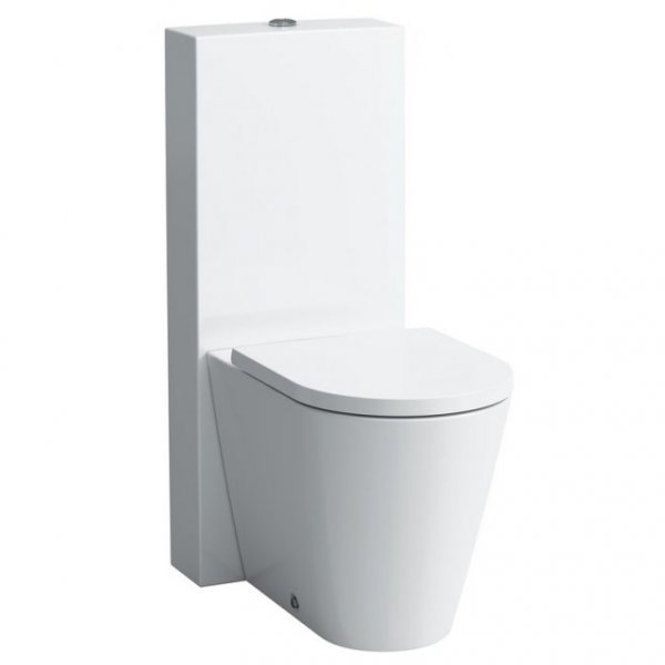 Kartell by Laufen Complete Close Coupled WC Toilet