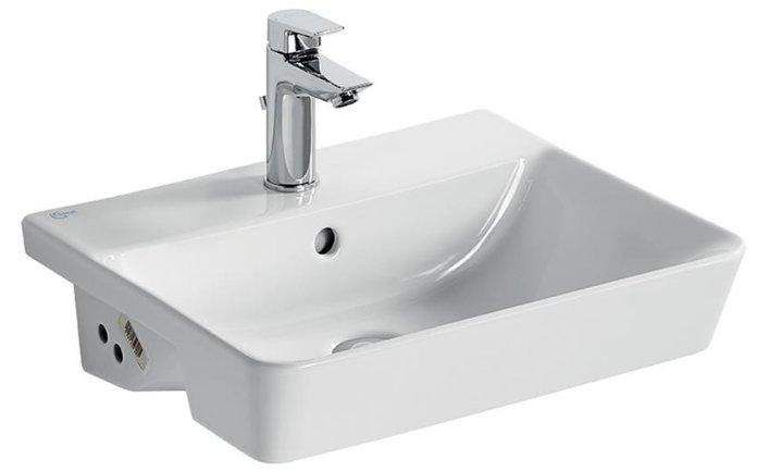 Ideal Standard Concept Air Cube 50cm Semi Countertop Basin