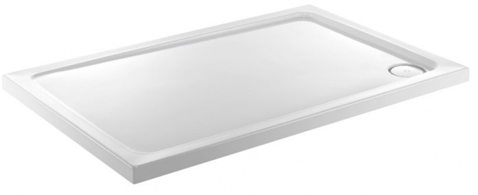 Jt Fusion 900 X 800mm Rectangle Shower Tray With Concealed