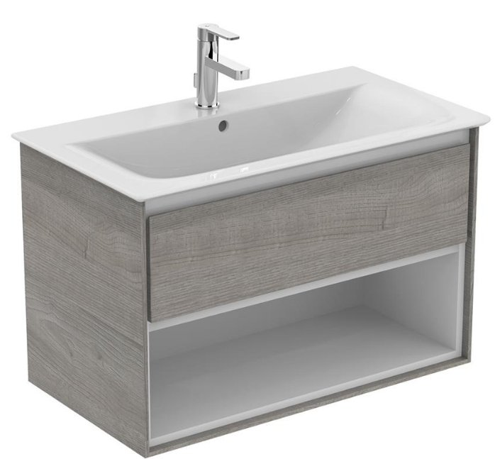 Ideal Standard Concept Air 600mm Vanity Unit With Open Shelf Bathroom Supplies Online