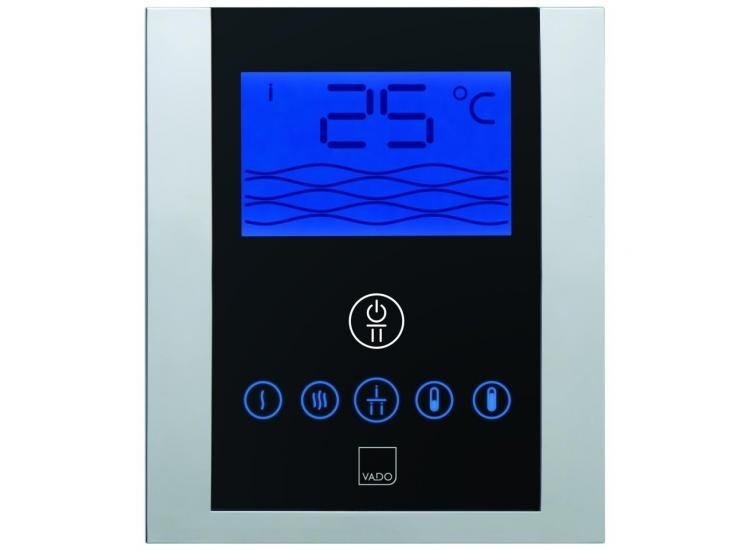 Vado Thermostatic Shower Valve With Diverter And Digital Control