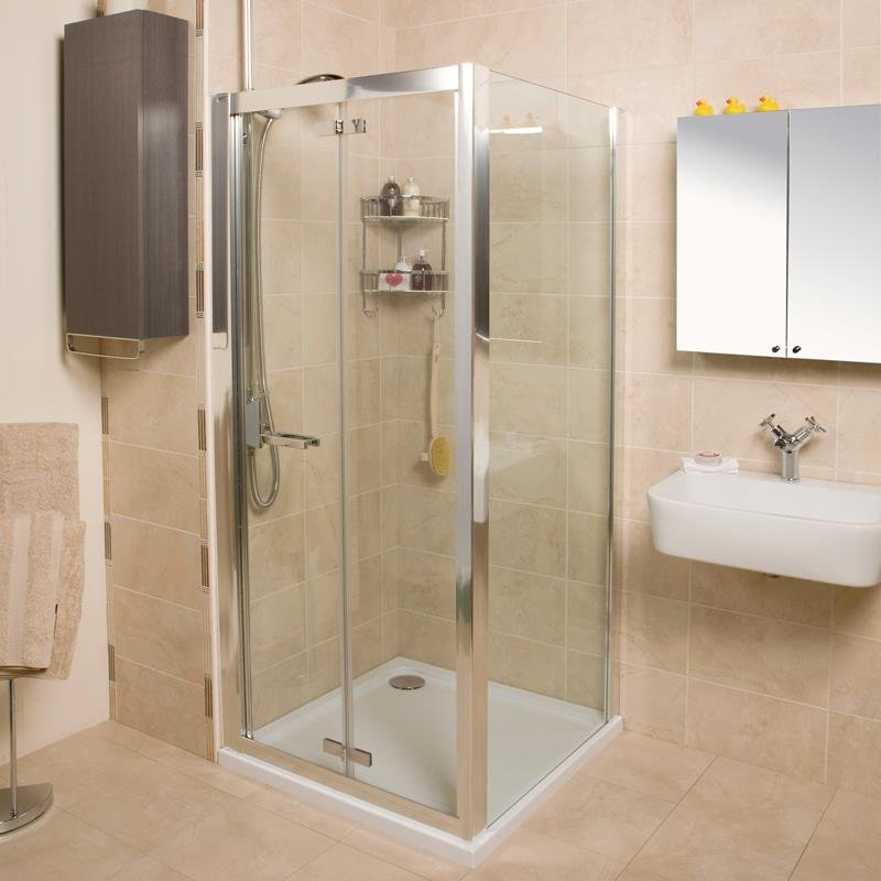Roman Collage Bi Fold Door Bathroom Supplies Online