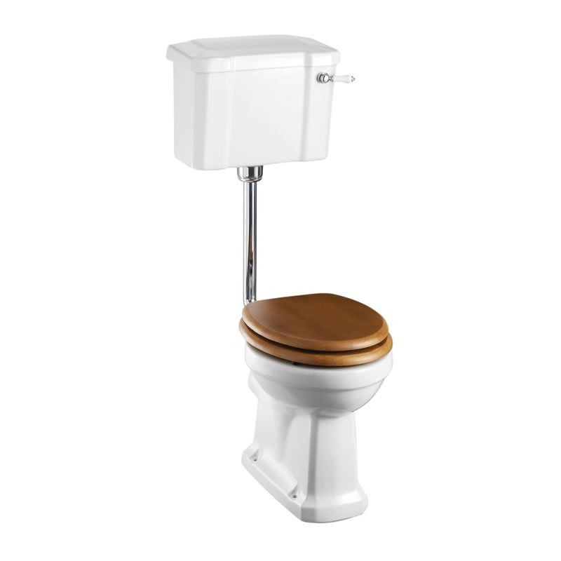 Burlington Regal Slimline Low Level Wc Suite Bathroom