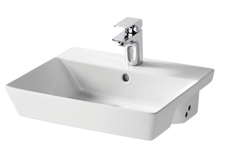 Sottini Isarca 50cm Semi Countertop Basin Bathroom