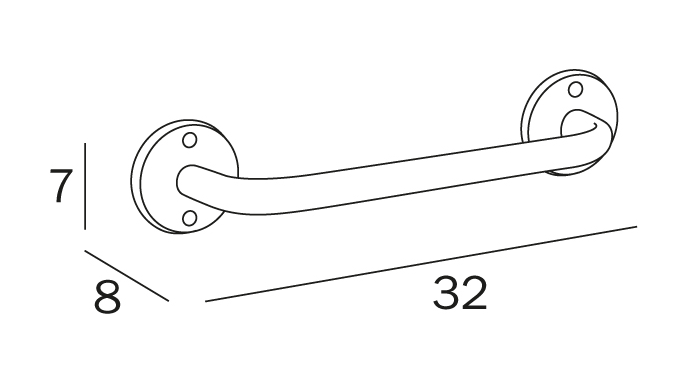 Inda Hotellerie Grab Bar (A0590M)