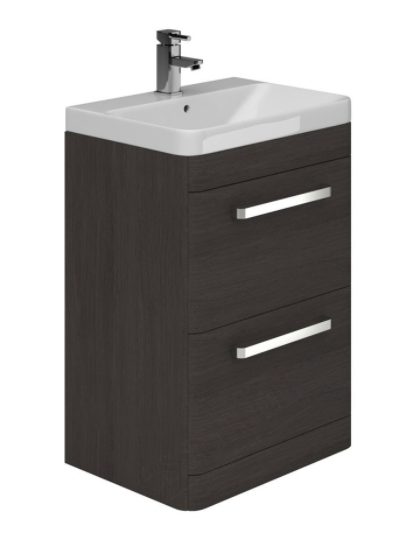 Essential Vermont 500mm Basin Unit with 2 Drawers