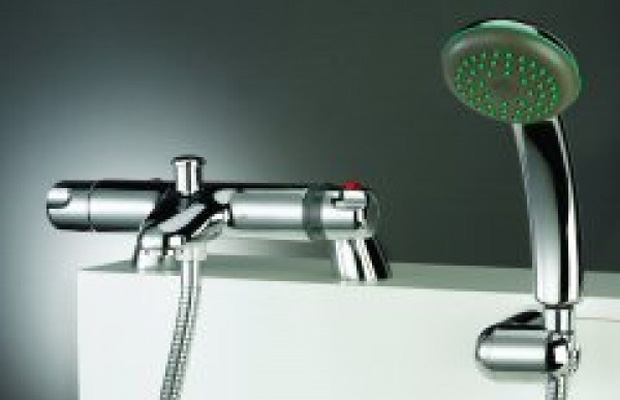 Thermostatic Bath/Shower Mixer
